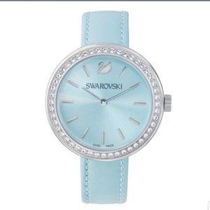 Swarovski Daytime Light Blue Stainless Steel Watch
